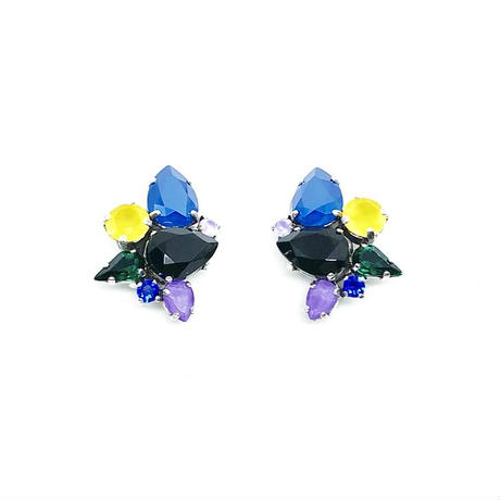 18H10 Clip Earrings